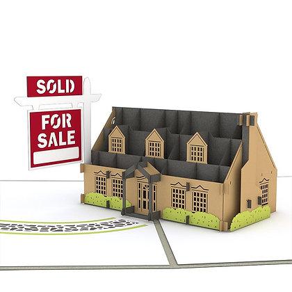 House For Sale 3D Card