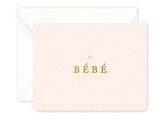 Bebe Girl Card