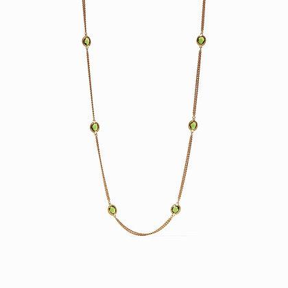 Jade Green- Calypso Station Necklace
