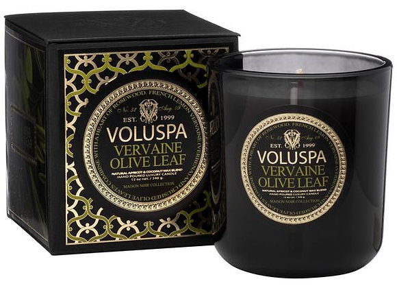 Vervaine Olive Leaf Classic Maison Candle
