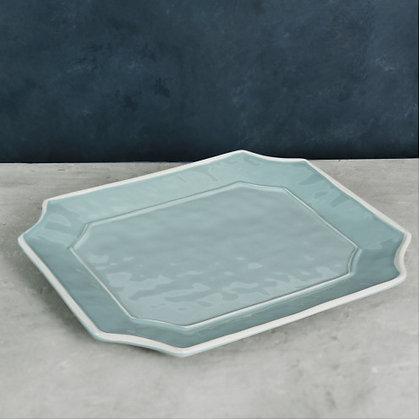 Blue Rectangular Platter - VIDA Charleston