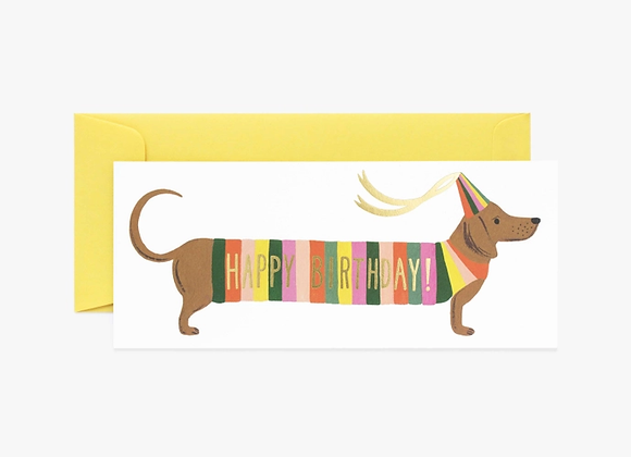 Hot Dog No. 10 Birthday Card
