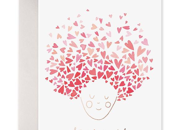 Heart Head Card