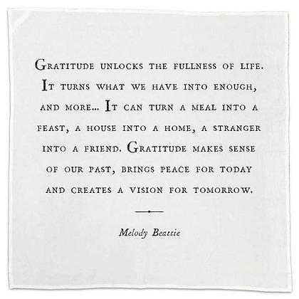 Gratitude Napkin Set