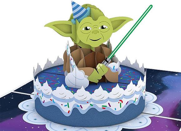 Yoda Birthday 3D Card