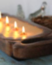 mango wood tray candle 60 hrs 4 wicks.jp