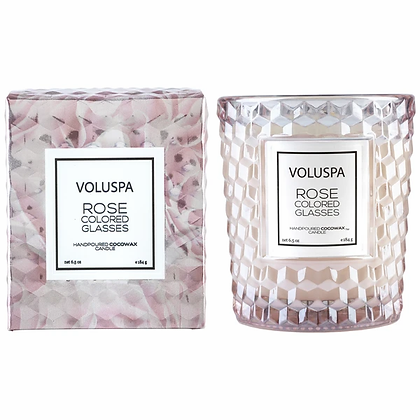 Rose Colored Glasses Classic Boxed Candle