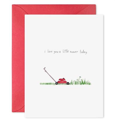 Love You A Litter Mower Card