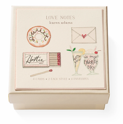 Love Notes Gift Enclosure Boxed Notes Set