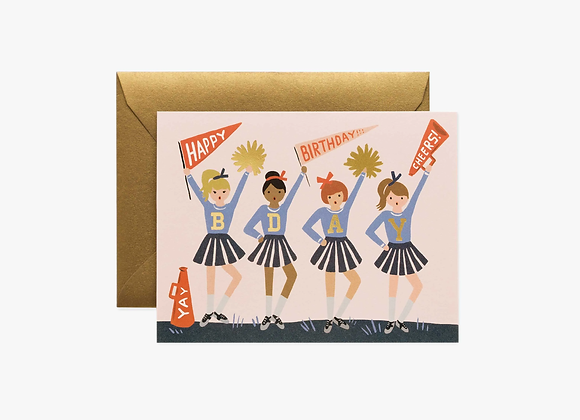 Birthday Cheer Card