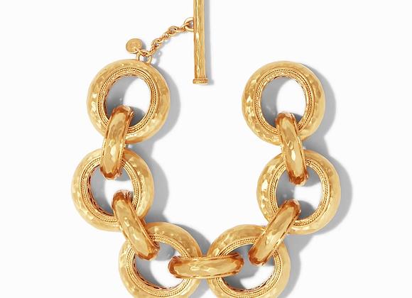 Cassis Gold Link Bracelet