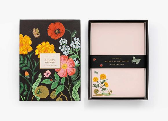 Botanical Social Stationery Set