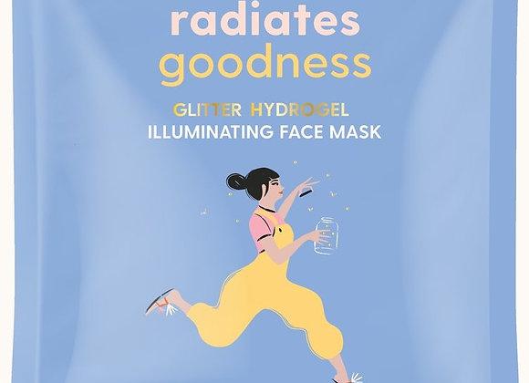 She Radiates Goodness Glitter Hydrogel Face Mask