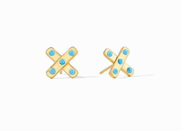 Paris X Stud Earrings