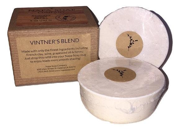 Shaving Soap Refill for Ceramic Shaving Mugs