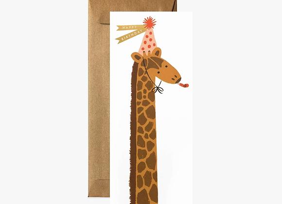 Birthday Giraffe No. 10 Card
