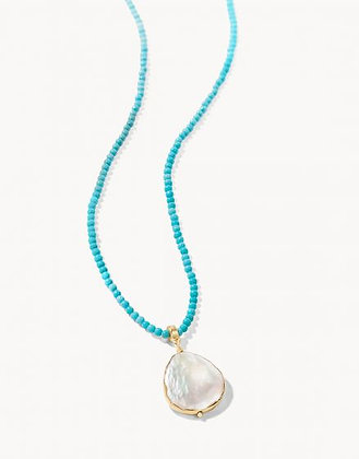 Coin Pearl Bitty Necklace