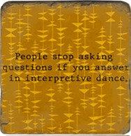 Single Marble Coaster- Interpretive Dance