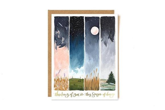 Seasons Friendship Card