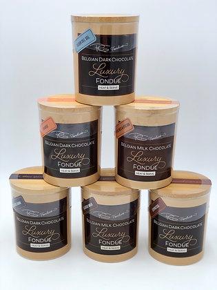 Belgian Chocolate Luxury Fondue