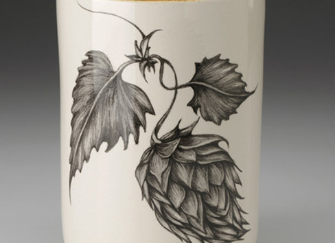 Hops #1 Utensil Cup by Laura Zindel