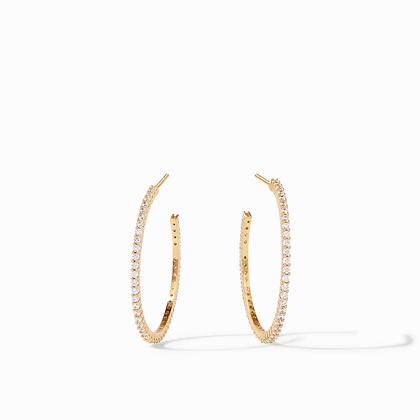 Paris Hoop Earrings