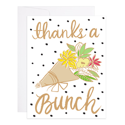 Dotty Thanks A Bunch Card