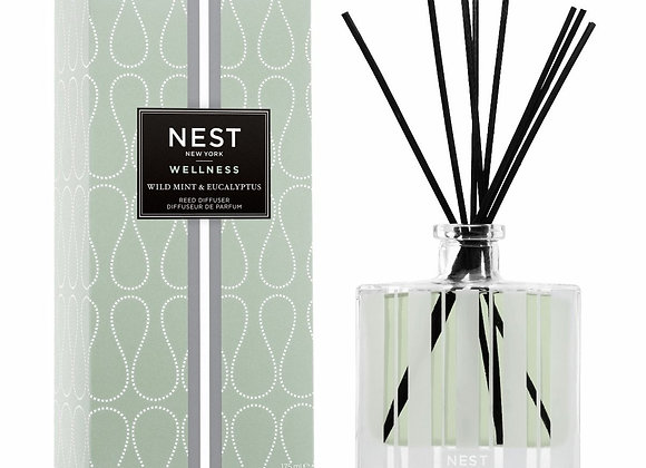 Wild Mint & Eucalyptus Reed Diffuser