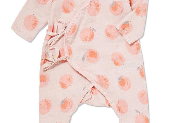 Peachy Wrap Coverall