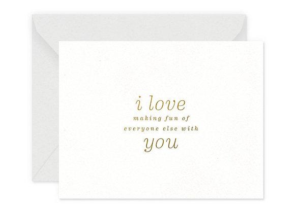Making Fun Greeting Card
