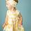 Thumbnail: Kimono Dress and Diaper Cover in Sunshine