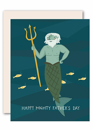 Mighty Father's Day Card