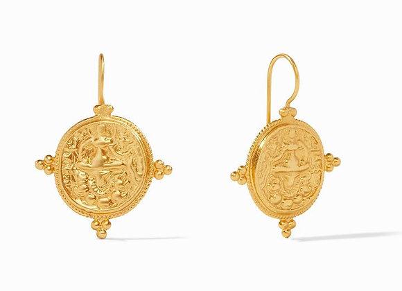 Quatro Coin Earrings