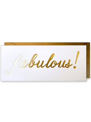 Fabulous! #10 Card