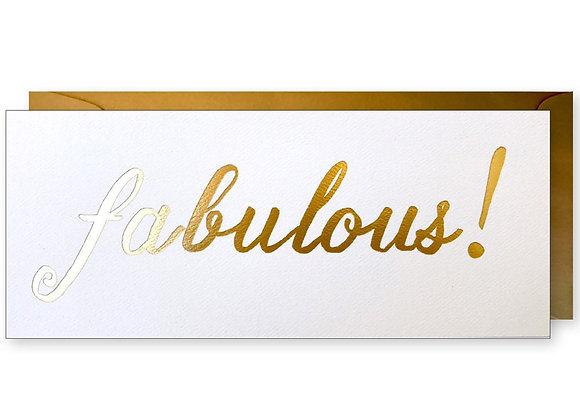 Fabulous! #10 Card
