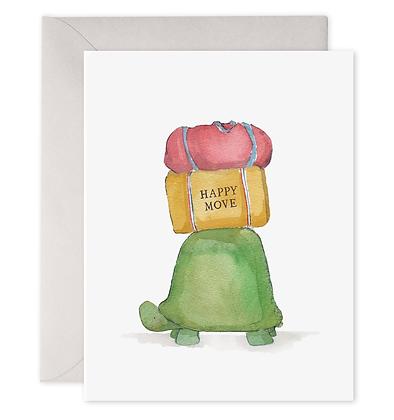 Turtle Move Greeting Card
