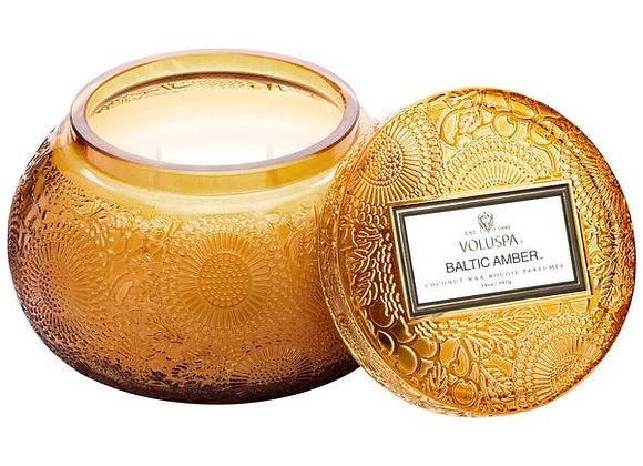 Baltic Amber Chawan Bowl Candle
