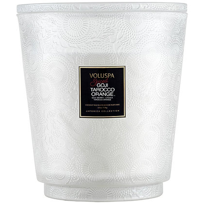 Spiced Goji Tarocco Orange 5 Wick Hearth Candle