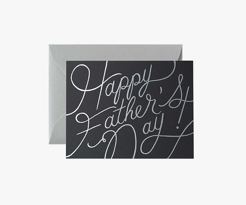 Platinum Father's Day Card