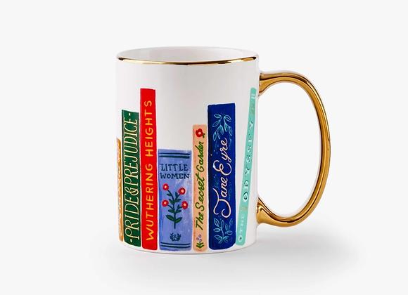 Book Club Porcelain Mug