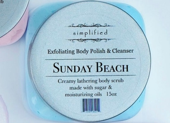 Sunday Beach Exfoliating Body Polish 16oz