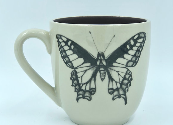 Swallowtail Butterfly Mug by Laura Zindel