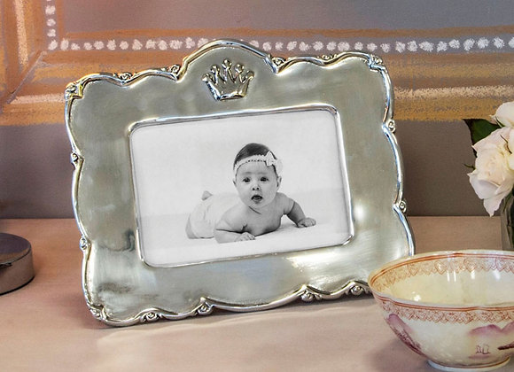 "Baby Princess Crown 4"" x 6"" Frame"