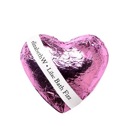 Lilac Heart Bath Fizz