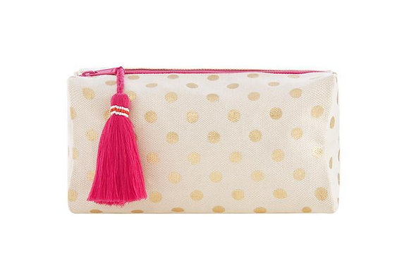 Dotty Boxy Cosmetic Pouch