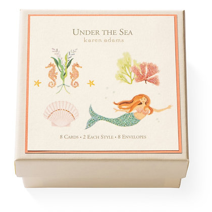 Under The Sea Gift Enclosure Boxed Notes Set