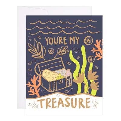 You're My Treasure Card