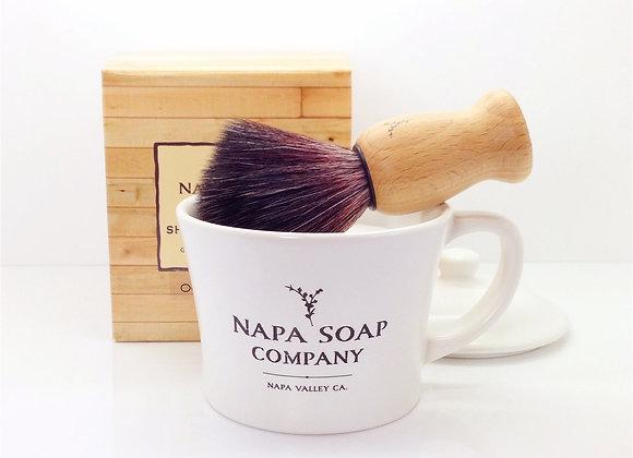 Ceramic Shaving Soap Gift Set