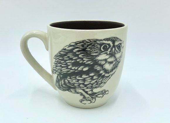 Screech Owl #2 Mug by Laura Zindel