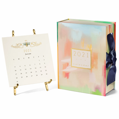 2021 Karen Adams Calendar with Easel